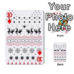 Ugly Christmas Humping Playing Cards 54 Designs  Front - Diamond10