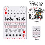 Ugly Christmas Humping Playing Cards 54 Designs  Front - DiamondJ