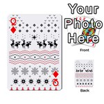 Ugly Christmas Humping Playing Cards 54 Designs  Front - DiamondQ