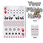Ugly Christmas Humping Playing Cards 54 Designs  Front - DiamondK
