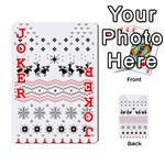 Ugly Christmas Humping Playing Cards 54 Designs  Front - Joker2