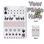 Ugly Christmas Humping Playing Cards 54 Designs  Front - Spade10