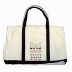 Ugly Christmas Humping Two Tone Tote Bag Front