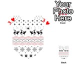 Ugly Christmas Humping Playing Cards 54 (Heart)  Front - Heart3