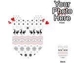 Ugly Christmas Humping Playing Cards 54 (Heart)  Front - Heart4