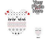 Ugly Christmas Humping Playing Cards 54 (Heart)  Front - Heart6