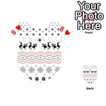 Ugly Christmas Humping Playing Cards 54 (Heart)  Front - Heart8