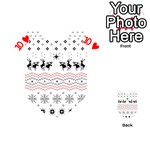 Ugly Christmas Humping Playing Cards 54 (Heart)  Front - Heart10