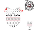 Ugly Christmas Humping Playing Cards 54 (Heart)  Front - HeartQ