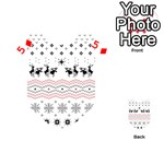 Ugly Christmas Humping Playing Cards 54 (Heart)  Front - Diamond5