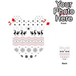 Ugly Christmas Humping Playing Cards 54 (Heart)  Front - DiamondJ