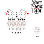 Ugly Christmas Humping Playing Cards 54 (Heart)  Front - DiamondQ