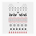 Ugly Christmas Humping Medium Glasses Cloth Front
