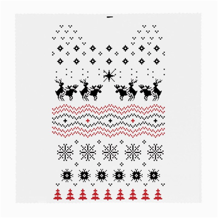 Ugly Christmas Humping Medium Glasses Cloth (2-Side)