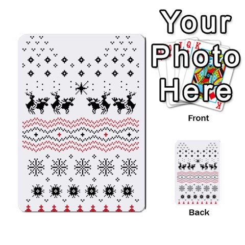 Ugly Christmas Humping Multi-purpose Cards (Rectangle)