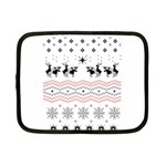 Ugly Christmas Humping Netbook Case (Small)  Front