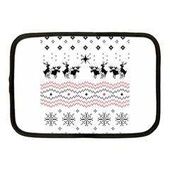Ugly Christmas Humping Netbook Case (Medium)