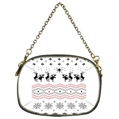 Ugly Christmas Humping Chain Purses (One Side)