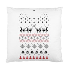 Ugly Christmas Humping Standard Cushion Case (one Side)