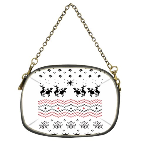 Ugly Christmas Humping Chain Purses (Two Sides)