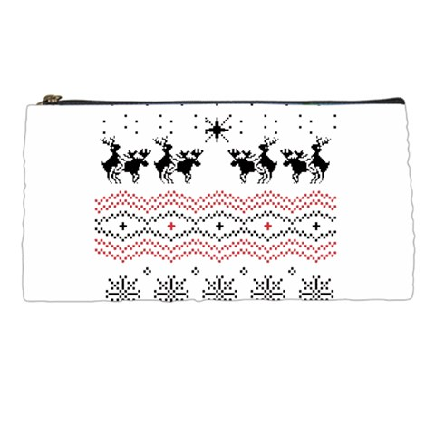 Ugly Christmas Humping Pencil Cases