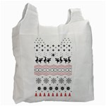 Ugly Christmas Humping Recycle Bag (One Side) Front