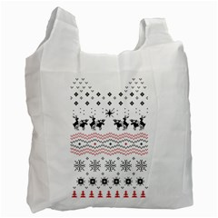 Ugly Christmas Humping Recycle Bag (Two Side)