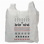 Ugly Christmas Humping Recycle Bag (Two Side)  Back