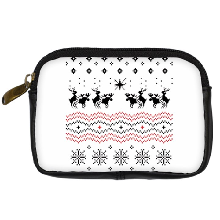 Ugly Christmas Humping Digital Camera Cases