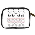 Ugly Christmas Humping Digital Camera Cases Back