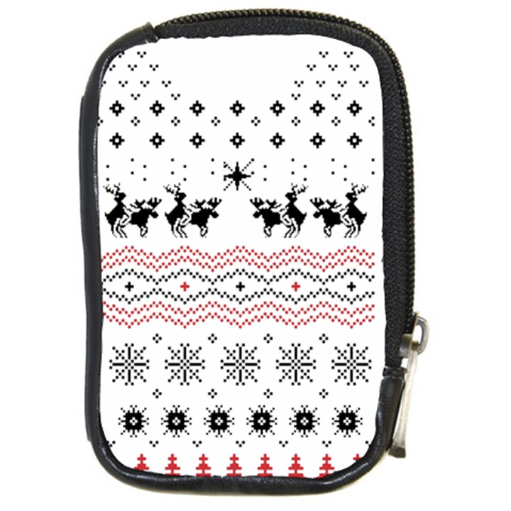 Ugly Christmas Humping Compact Camera Cases