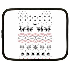 Ugly Christmas Humping Netbook Case (XXL)