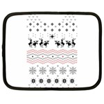 Ugly Christmas Humping Netbook Case (XXL)  Front