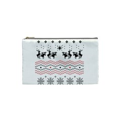 Ugly Christmas Humping Cosmetic Bag (Small)