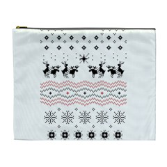 Ugly Christmas Humping Cosmetic Bag (XL)