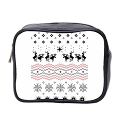 Ugly Christmas Humping Mini Toiletries Bag 2-Side