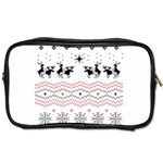 Ugly Christmas Humping Toiletries Bags Front