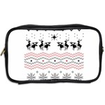Ugly Christmas Humping Toiletries Bags 2-Side Back