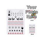 Ugly Christmas Humping Playing Cards 54 (Mini)  Front - Spade3