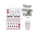 Ugly Christmas Humping Playing Cards 54 (Mini)  Front - Heart10