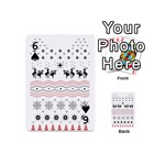 Ugly Christmas Humping Playing Cards 54 (Mini)  Front - Spade6
