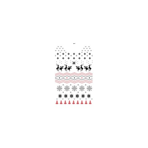Ugly Christmas Humping Shower Curtain 48  x 72  (Small)