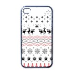 Ugly Christmas Humping Apple iPhone 4 Case (Black) Front
