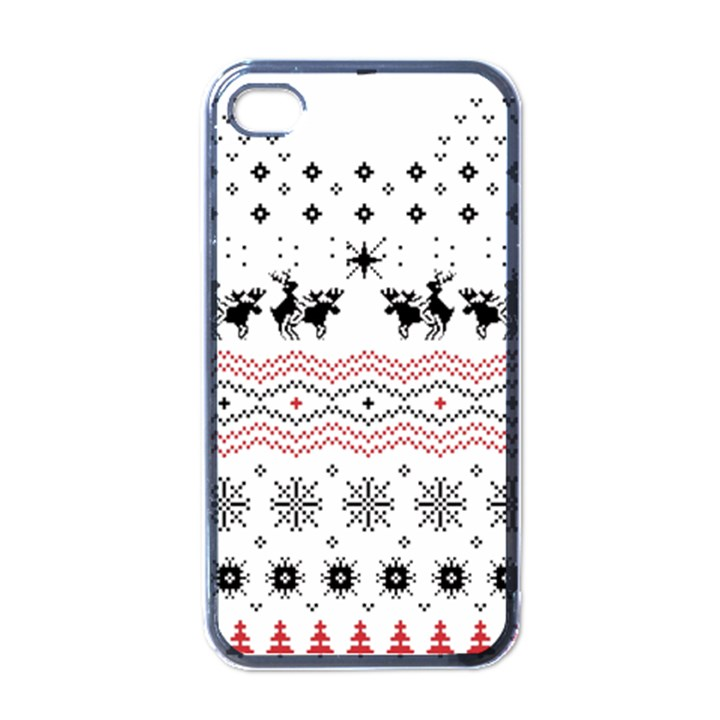 Ugly Christmas Humping Apple iPhone 4 Case (Black)