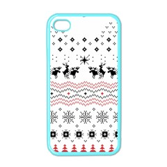 Ugly Christmas Humping Apple Iphone 4 Case (color)