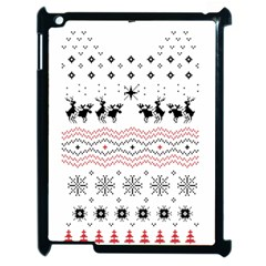 Ugly Christmas Humping Apple Ipad 2 Case (black)