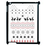 Ugly Christmas Humping Apple iPad 2 Case (Black) Front