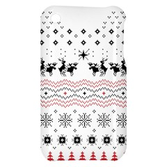 Ugly Christmas Humping Apple iPhone 3G/3GS Hardshell Case