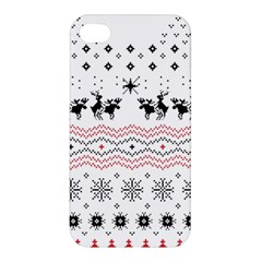 Ugly Christmas Humping Apple Iphone 4/4s Hardshell Case