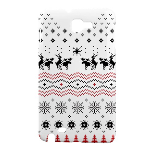 Ugly Christmas Humping Samsung Galaxy Note 1 Hardshell Case